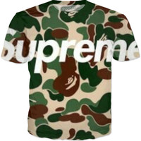 Supreme Camp T Shirt