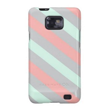 Diagonal Stripes Galaxy SII Cover from Zazzle.com