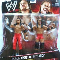 WWE Family Fury: Jimmy Uso And Jey Uso Figure 2-Pack - Series #11