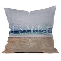 DENY Designs Leah Flores Let's Run Away III Outdoor Throw Pillow | www.hayneedle.com