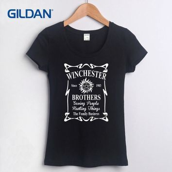 Plain Tee Shirts 2017 Supernaturals T Shirt Fashion 2017 Girls Fashion Plain T Shirts Plain Blacks T-Shirt