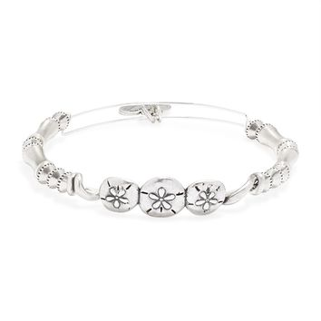 Sand Dollar Horizontal Bangle