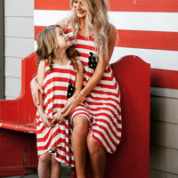 Mommy and Me 4th of July Zahara Dress