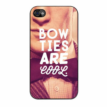 Bow Ties Are Cool iPhone 4 Case