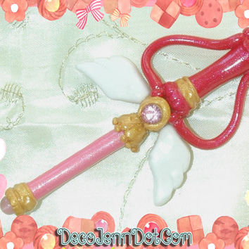 Kaleido Moon Scope Pin or Magnet ~ Sailor Moon inspired Sailor Moon Miniature Sword Sailor Moon Pin Kaleido Moon