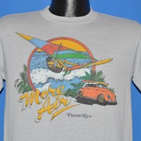 80s Puerto Rico Wind Surfing Sunset t-shirt Medium