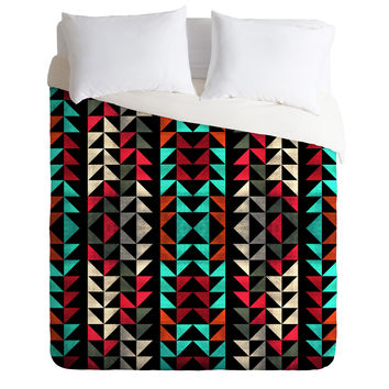 Caleb Troy Volted Triangles 02 Duvet Cover