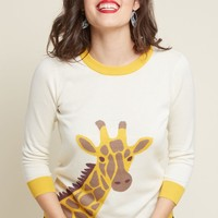 The Neck of Time Giraffe Sweater