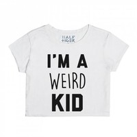 Weird Kid-Unisex Snow T-Shirt