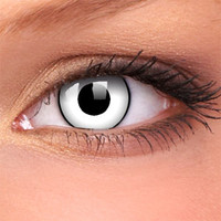 White Zombie Contact Lenses (Pair) | Coloured Contact Lenses