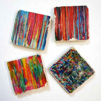 Stardust Collection Coasters - Abstract Set