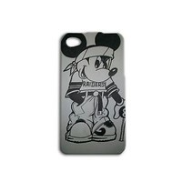 Disney Mickey Mouse Oakland Raiders Football Cute Custom iPhone Phone Funny Fun
