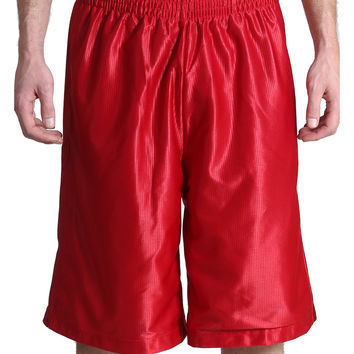 LE3NO Mens Active Basketball Shorts with Pockets (CLEARANCE)