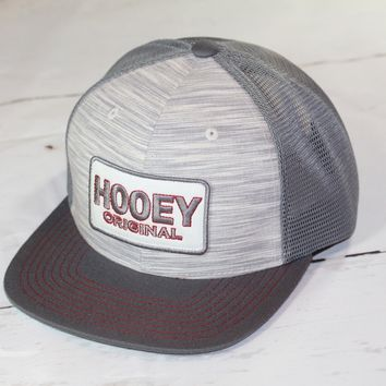 "HOOey ""Hooey Original"" OSFA (snapback) 1629T-GYRD NEW FOR 2017"