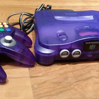 Funtastic Grape purple Nintendo 64 console system n64 video game - FREE SHIPPING