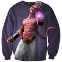 Kid Buu Coming to Life Crewneck