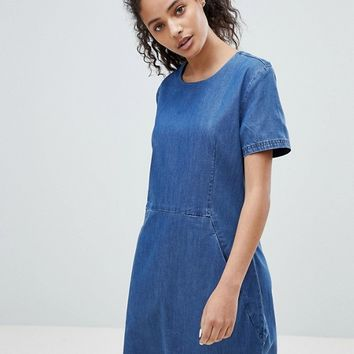 Bellfield Torinta Tencel Blend Dress at asos.com