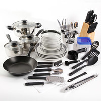 Walmart: Gibson Home Essential Total Kitchen 83-Piece Combo Set