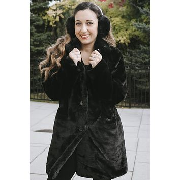 All Faux Fur Coat