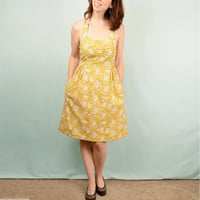 CUSTOM Retro Style Halter Dress with by AndriaHigginsDesigns