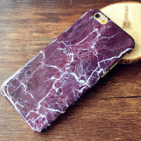 Marble Case Cover for iPhone 7 se 5s 6 6s Plus + Gift Box-156