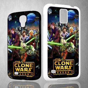 clone wars Y0639 Samsung Galaxy S3 S4 S5 (Mini) S6 S6 Edge,Note 2 3 4, HTC One S X M7 M8 M9 Cases