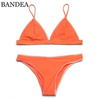 New arrival High quality Sexy women Bikini two piece Women Strappy Swimwear Biquines Sexy Swimsuit