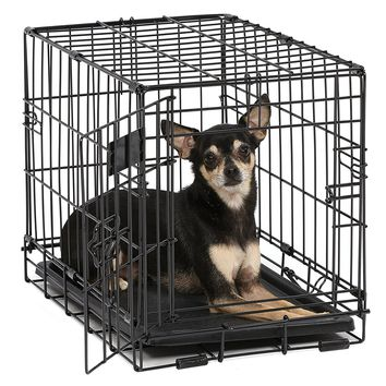 Dog Crate | iCrate Single & Double Door Folding Metal Dog Crates