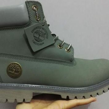 Men's Timberland Icon 6-inch Premium Classic Camo Green Waterproof Boots