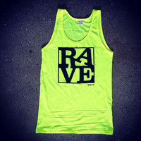 Rave Shirts - RAVE - Womens Neon Tanks and Tees - Bad Kids Clothing | Bad Kids Clothing