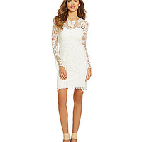 Gianni Bini Daphne Dress - Ivory White