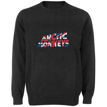 arctic monkeys logo sweater Black and White Sweatshirt Crewneck Men or Women for Unisex Size with variant colour