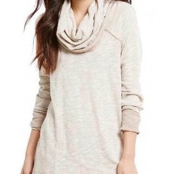 free people - oversized beach cocoon turtleneck pullover