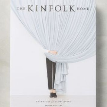 The Kinfolk Home by Anthropologie in White Size: One Size Books