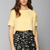 Mouchette Burnout Cropped Tee - Urban Outfitters