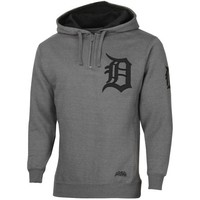 Detroit Tigers CVC Quarter Zip Pullover Hoodie - Charcoal