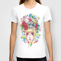 You're All Mad T-shirt by Krista Rae   Society6