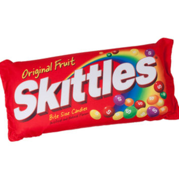Skittles Squishy Candy Pillow