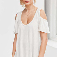 Project Social T Liza Cold-Shoulder Tee - Urban Outfitters