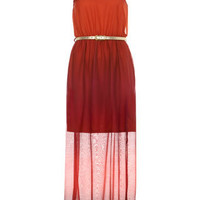 Petites Ombre Print Maxi** - New In - Miss Selfridge US