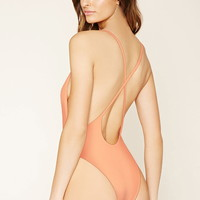 Crisscross-Back One-Piece | Forever 21 - 2000169927