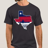 Texas Kayak Fisherman T-Shirt