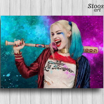 Best harley quinn print products on wanelo for Harley quinn bedroom designs