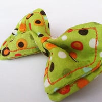 Green with Envy Bowtie Newbon to 5T