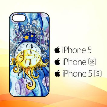 SUN AND MOON Z1074  iPhone 5|5S|SE Case