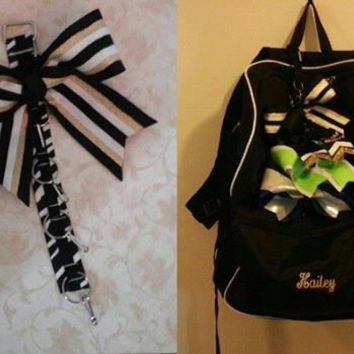 Cheer Bow Organizer for Backpack  --Cheer Bag Bow Holder