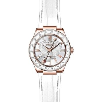 Invicta Women's 22541 Angel Quartz 3 Hand Silver Dial Watch