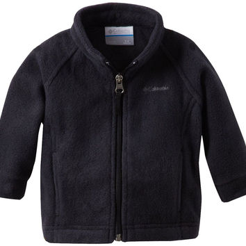 Columbia Baby Girls' Benton Springs Fleece Jacket Black 3-6 Months