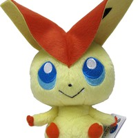 "Pokemon Best Wishes ShoPro F Plushdoll ~8"" - Victini"