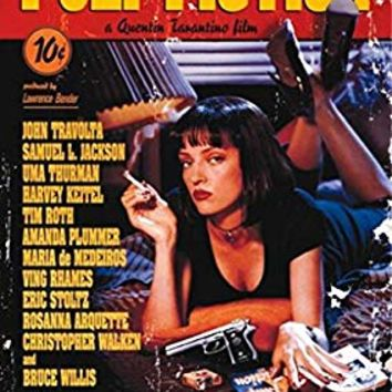 Pyramid America Pulp Fiction Uma Thurman Quentin Tarantino Comedy Crime Movie Travolta Jackson Giant Poster 39x55 inch